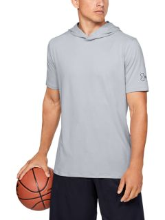 Remera Under Armour Baseline SS Hooded