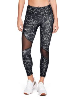 Calza Under Armour HeatGear Ankle Crop Print