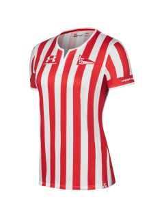 Camiseta Under Armour Stadium Estudiantes de la Plata Home Mujer 2020