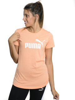 Remera Puma Essentials Logo Heather