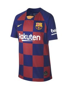 Camiseta Nike FC Barcelona Stadium Home 2019/2020 Kids