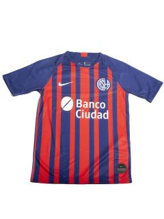 Camiseta Nike San Lorenzo Breathe Stadium Home 2020 Kids