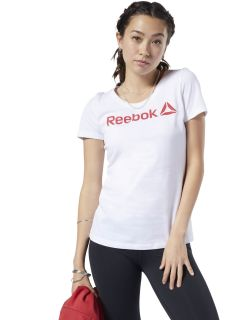 Remera Reebok Linear Read Scoop Neck