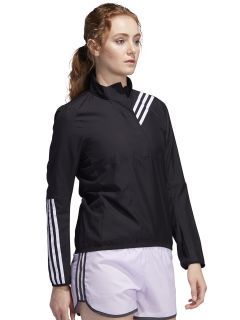 Campera Adidas Run it 3 Stripes Anorak