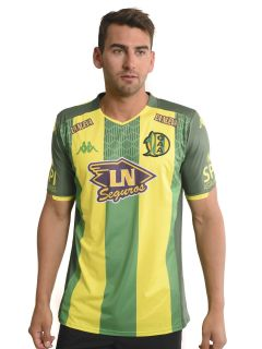 Camiseta Kappa Aldosivi Kombat Home Player 2019/2020