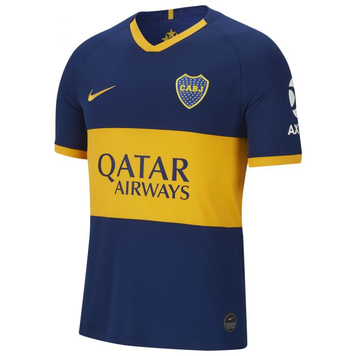 Agacharse Declaración Hablar con  Camiseta Nike Boca Juniors Stadium Home 2019/2020 - Open Sports