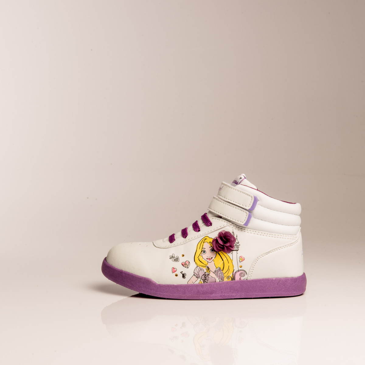 ZAPATILLAS DISNEY PRINCESAS FREE MODA