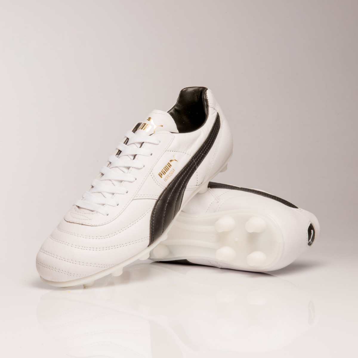 Botines Puma Borussia Blanco