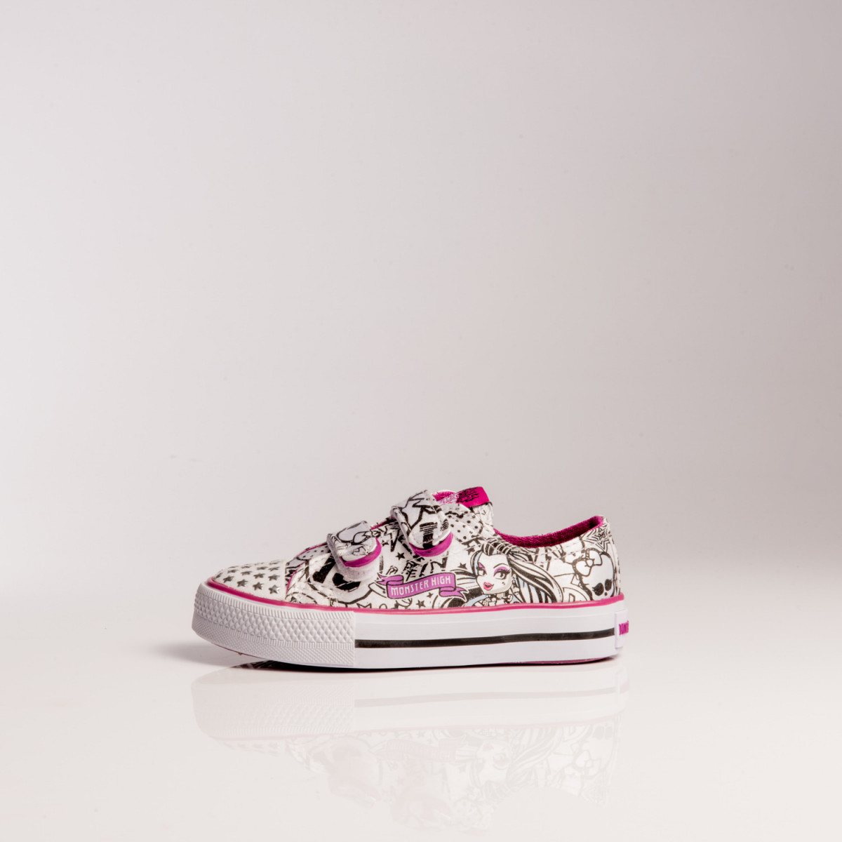 Zapatillas Disney Paint Mh C/Velcro