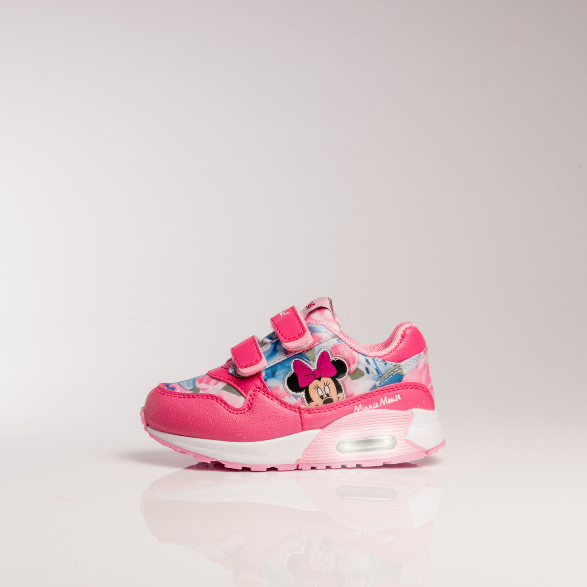 Zapatillas Disney Deportiva Air Minnie Flores