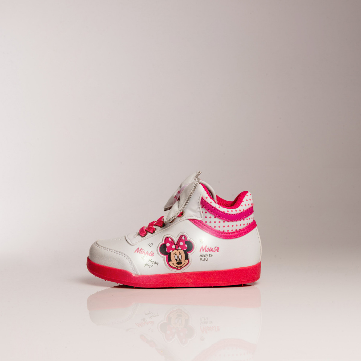 ZAPATILLAS DISNEY MINNIE MOÑO BOTA