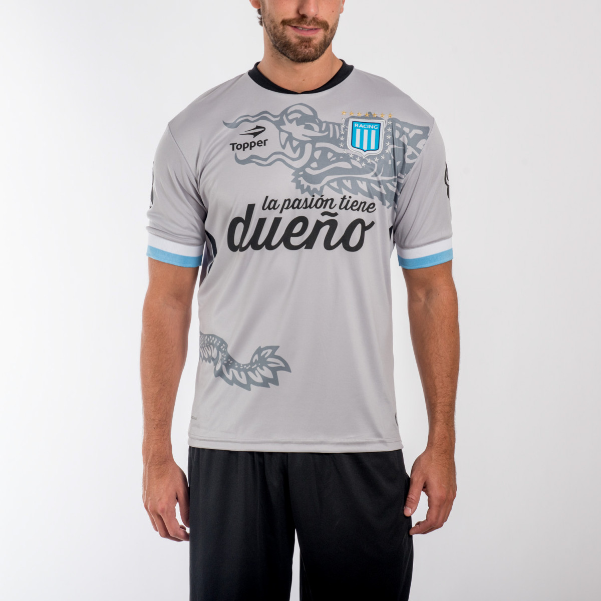 CAMISETA TOPPER RACING 15 ALT. III ARQUERO