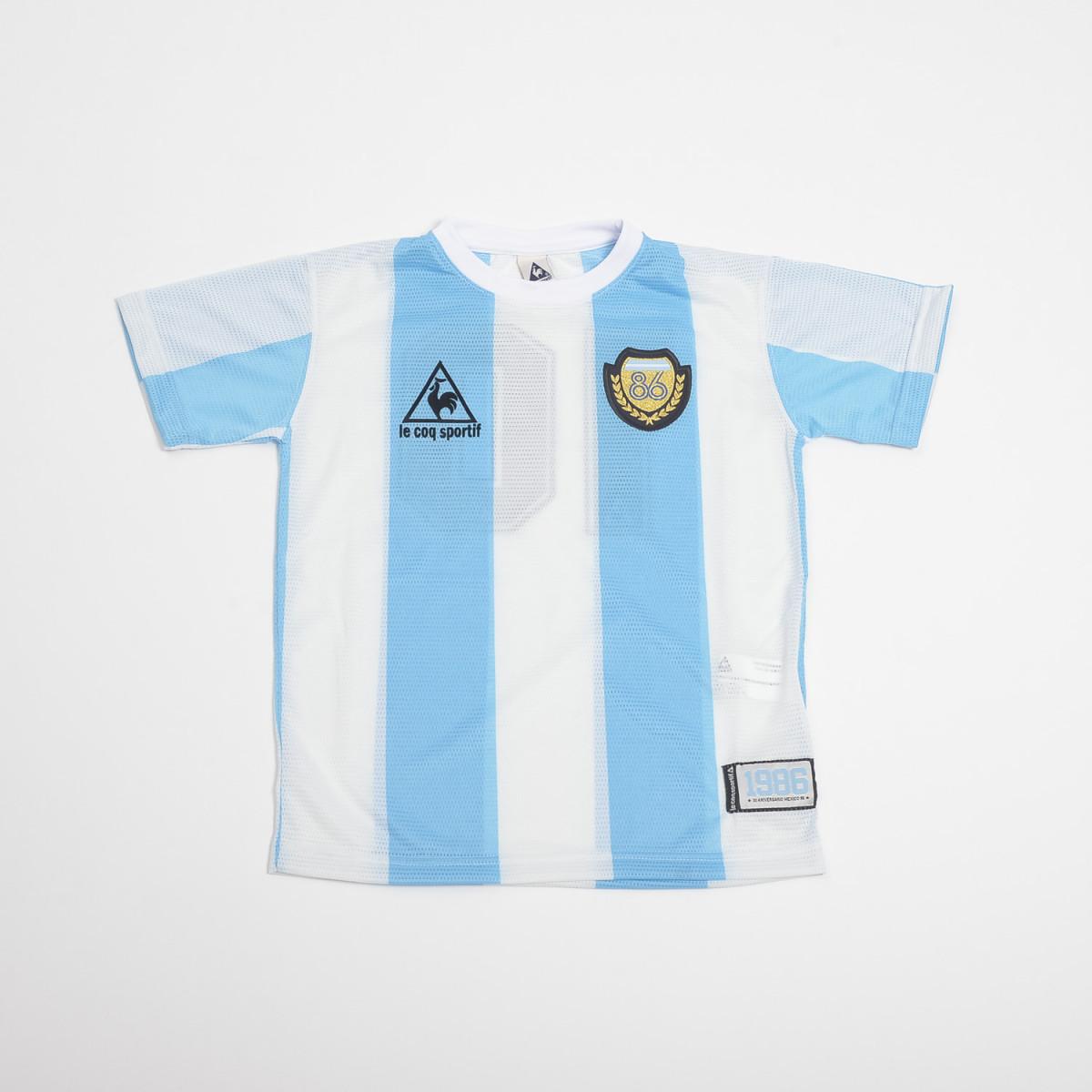 Camiseta Le Coq Argentina 86 Kids