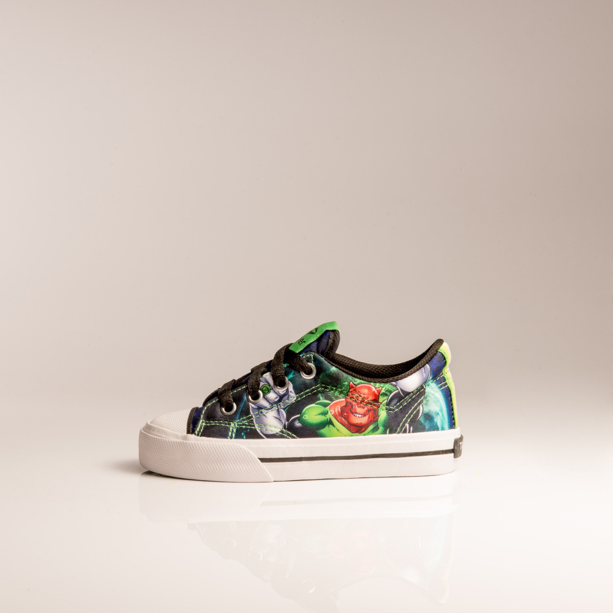 ZAPATILLAS TOPPER COMICS PROF LOW LINTERNA VERDE