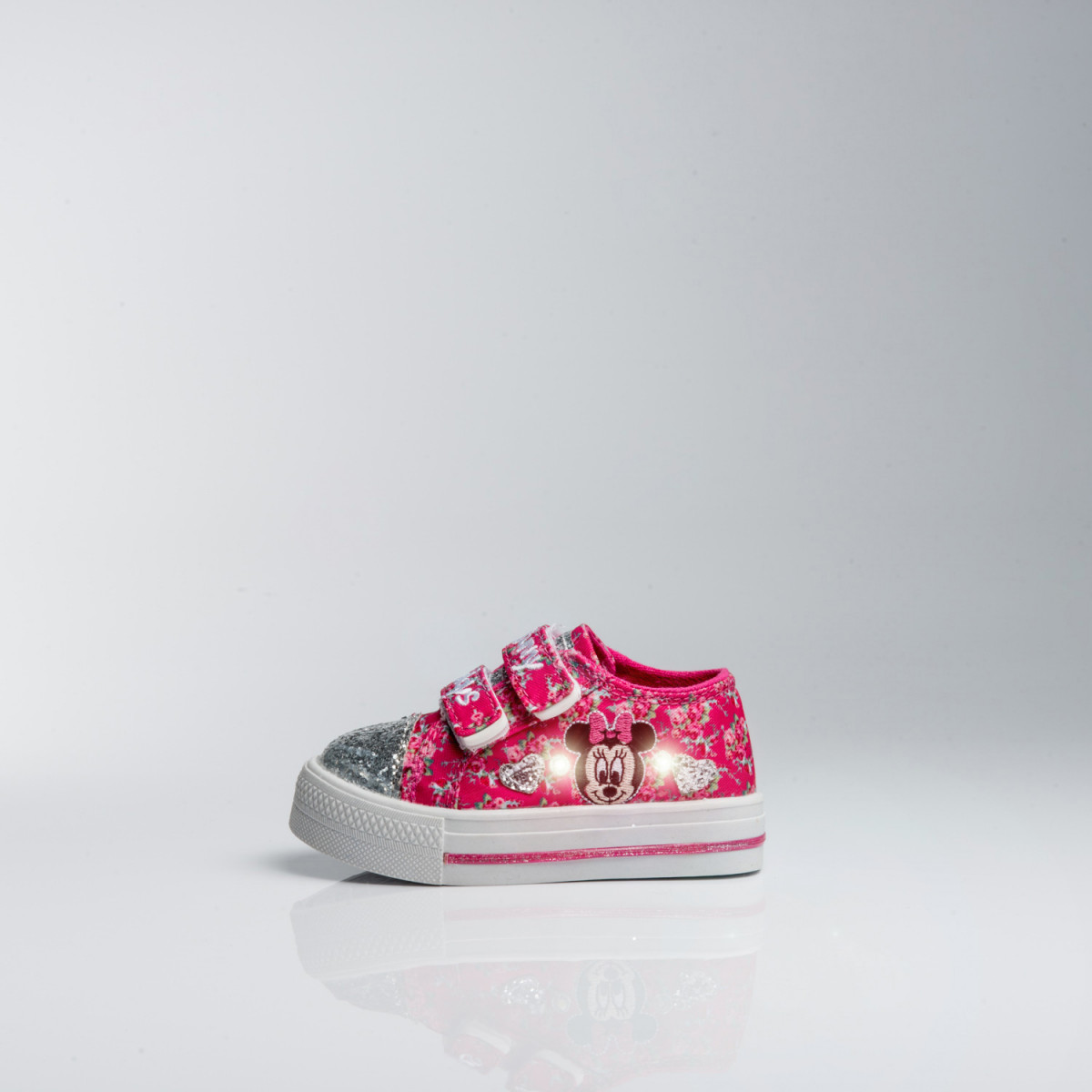 ZAPATILLAS DISNEY BABY MINNIE FLORES