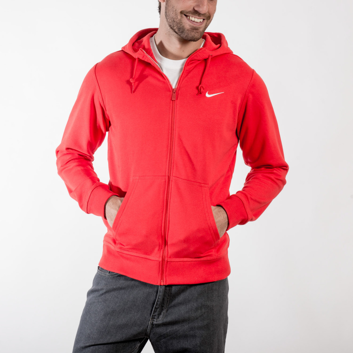 CAMPERA NIKE CLUB FZ HOODY-SWOOSH UNIVERSITY