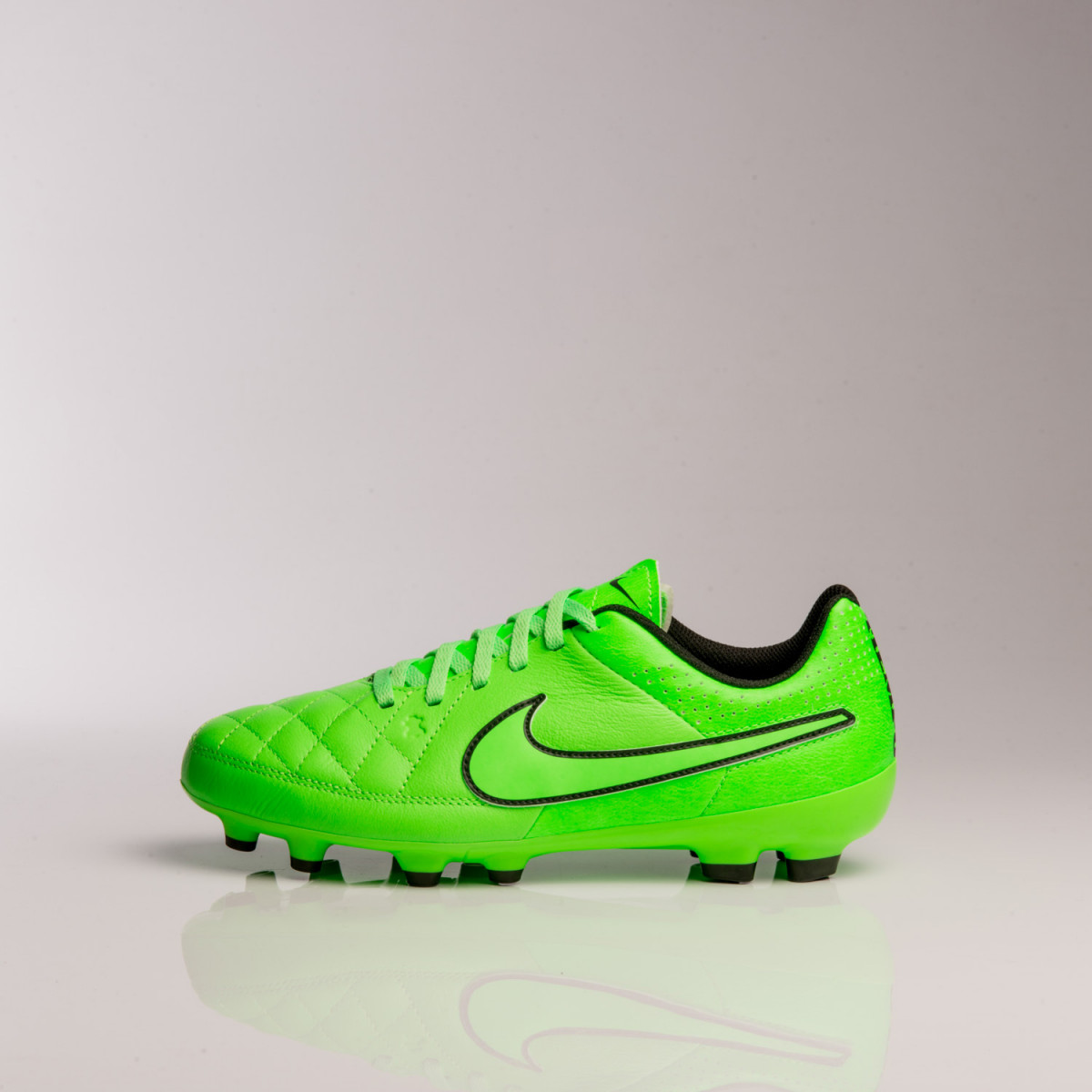 BOTINES NIKE JR TIEMPO GENIO LEATHER FG