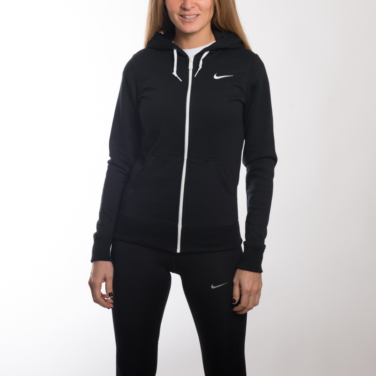 CAMPERA NIKE CLUB FT FZ HOODY SWOOSH