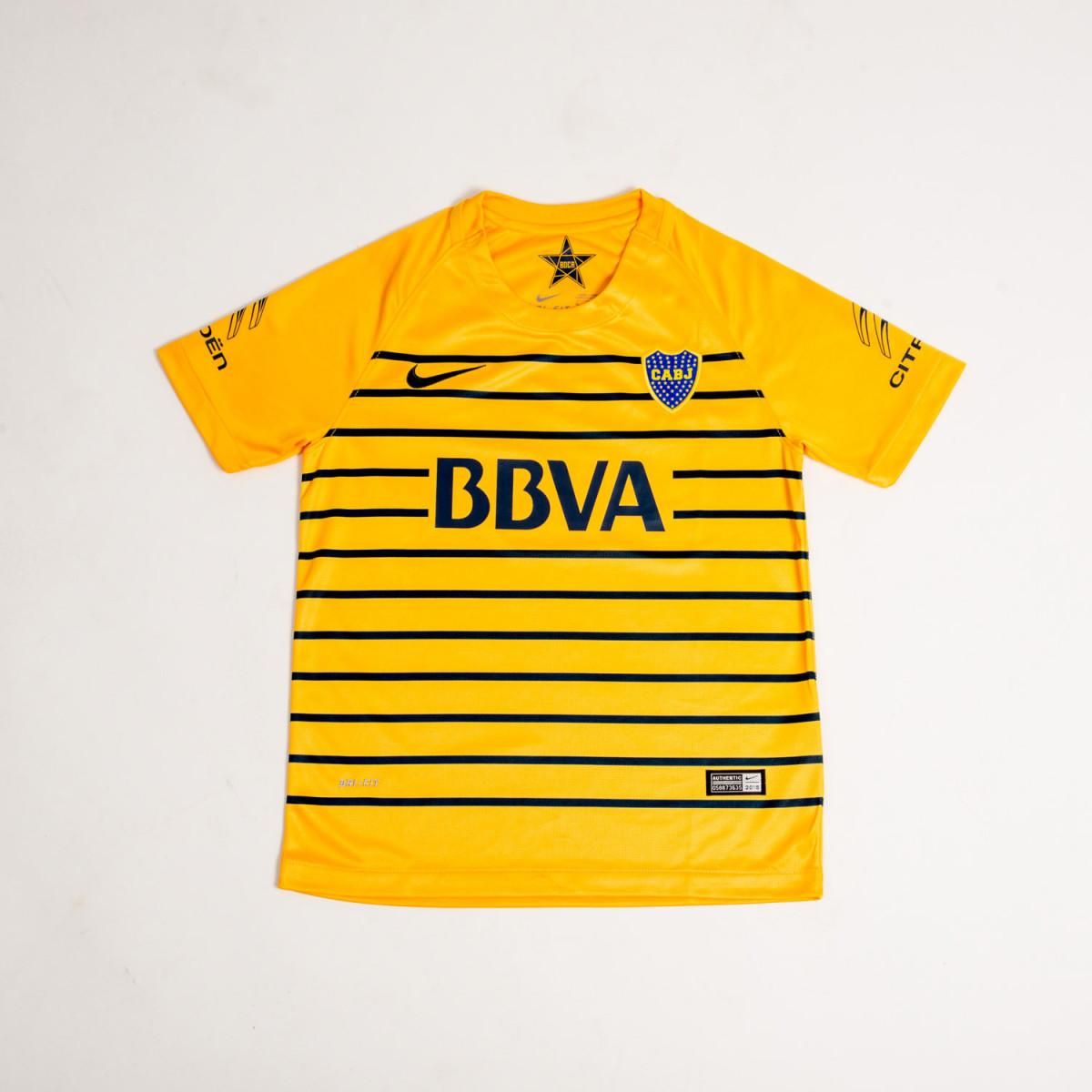 CAMISETA NIKE BOCA SS AWAY STADIUM BOYS