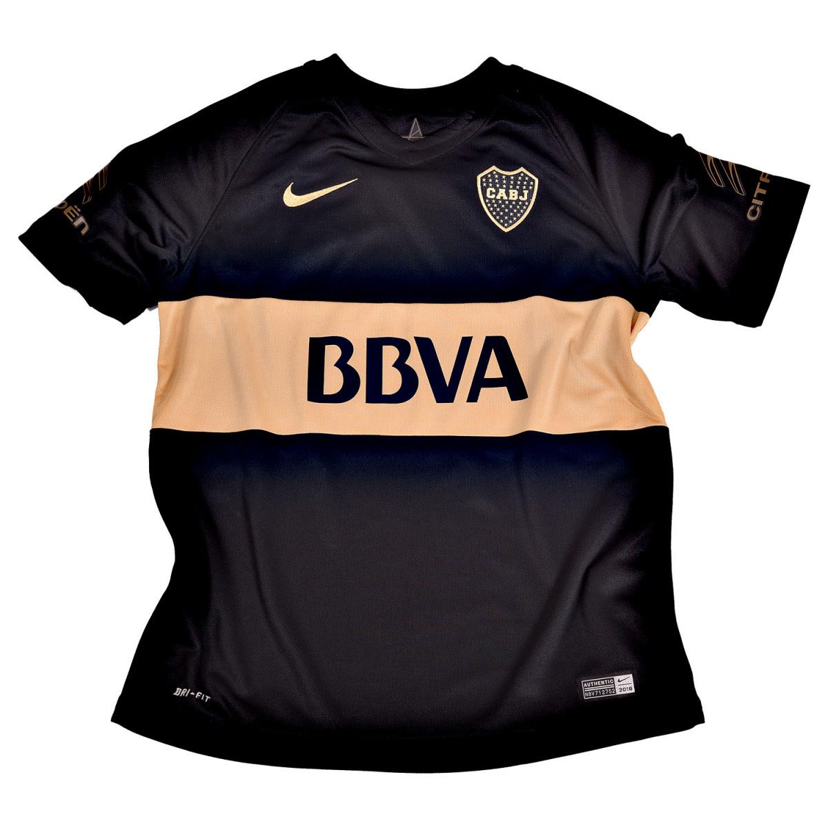 Camiseta Nike Boca Stadium Jsy Boys 2016