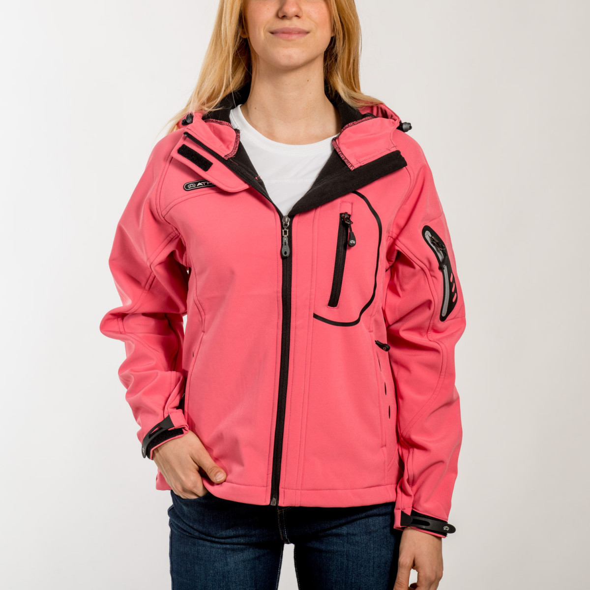 CAMPERA ATHIX FLOWER WOMEN SOFTSHELL