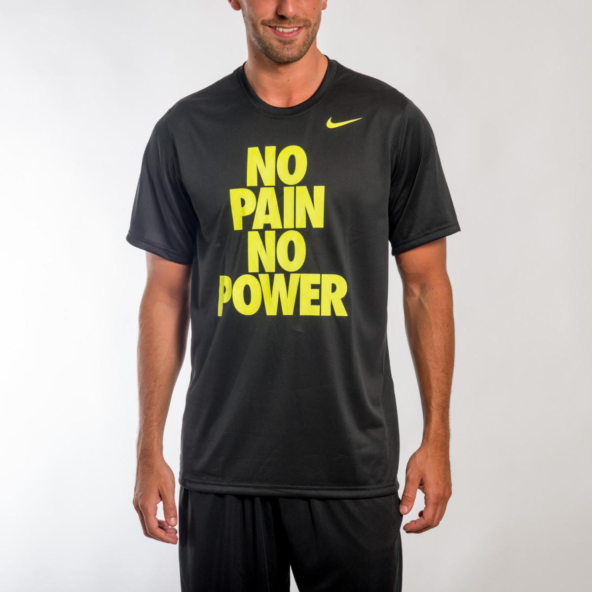 REMERA NIKE LEG NO PAIN NO POWER