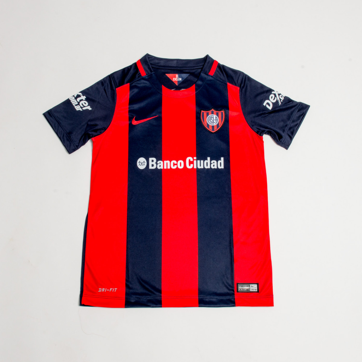 CAMISETA NIKE SAN LORENZO YOUTH HOME JSY 2016