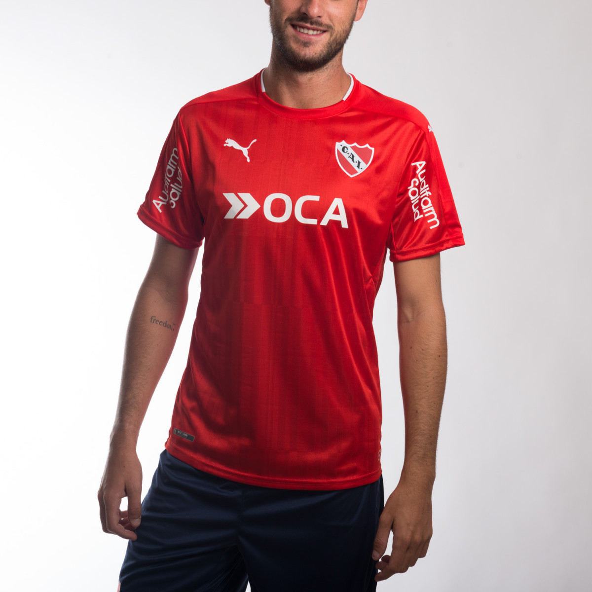 CAMISETA PUMA INDEPENDIENTE TITULAR 2016-2017