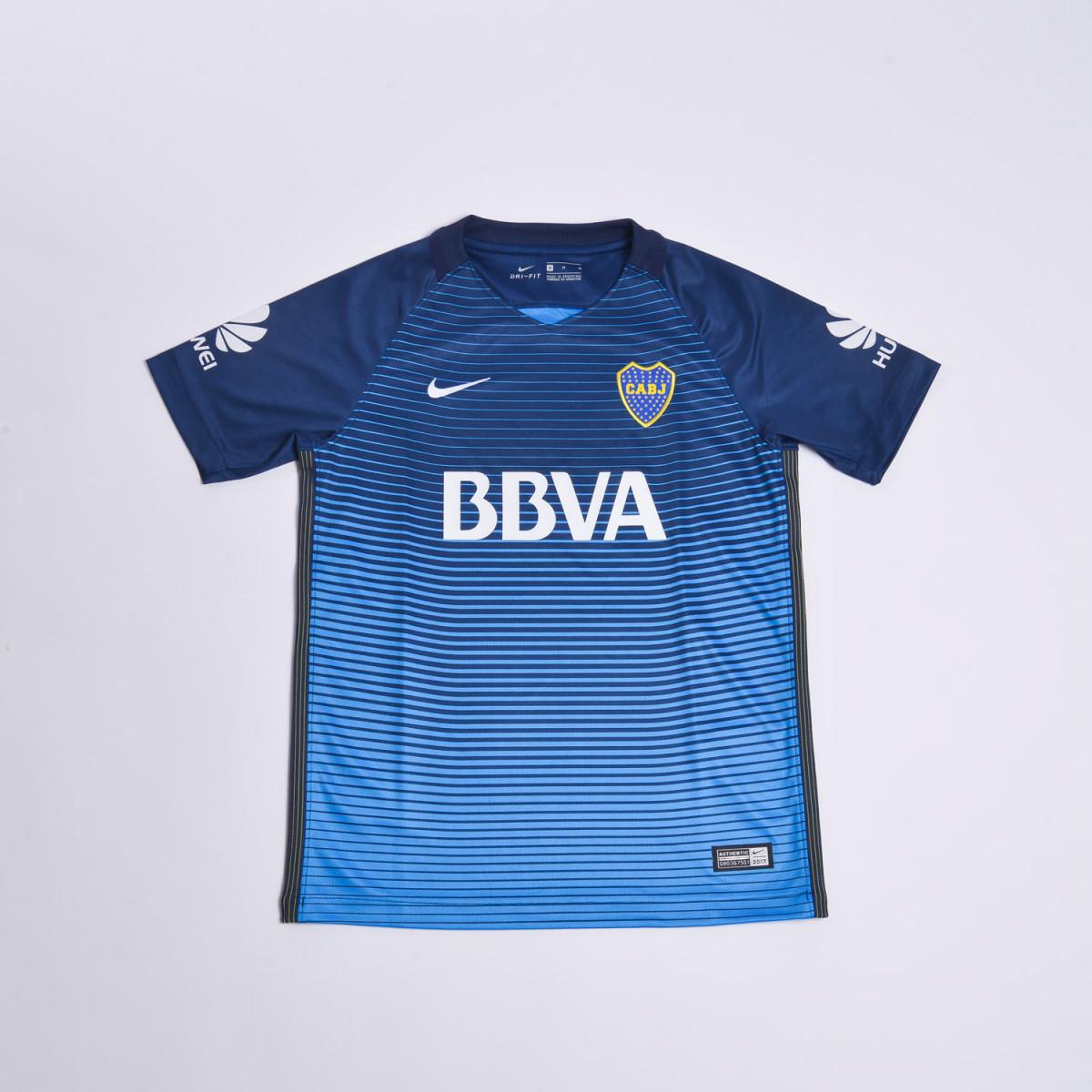 Camiseta De Futbol Nike Boca Juniors Boys