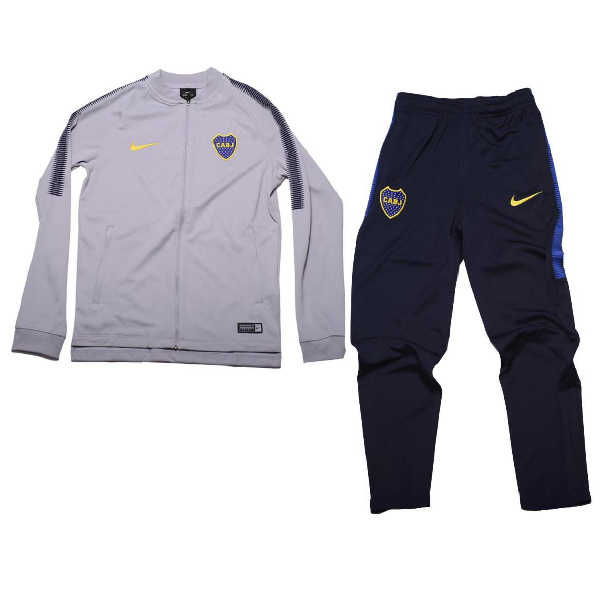 Conjunto Deportivo Nike Boca Dry Squad Kids - Indumentaria Fútbol ... 5a2d4069992c1