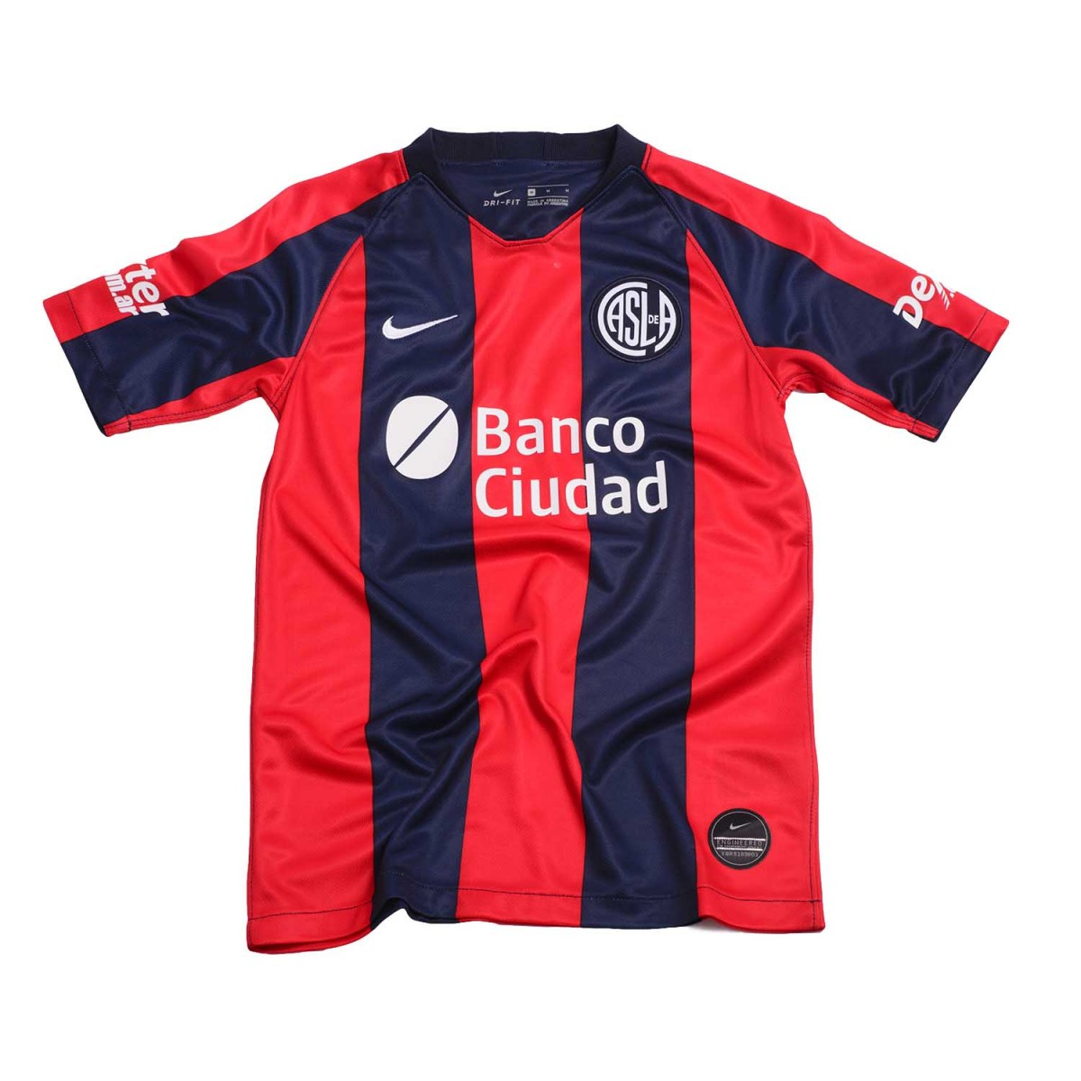 3d39fa9501d Camiseta Nike San Lorenzo Breathe Stadium Home 2019