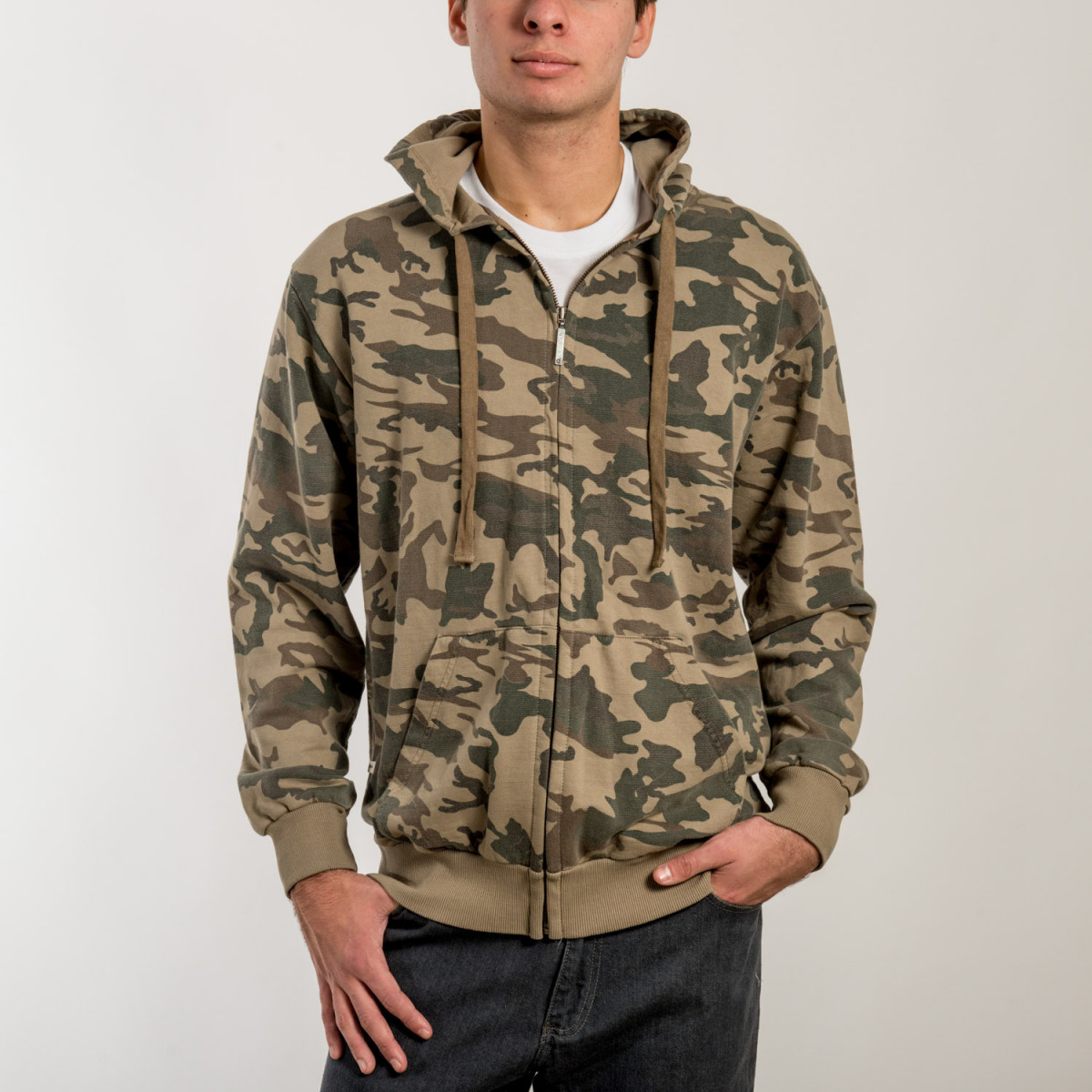 CAMPERA CONVERSE JACKET ARMY