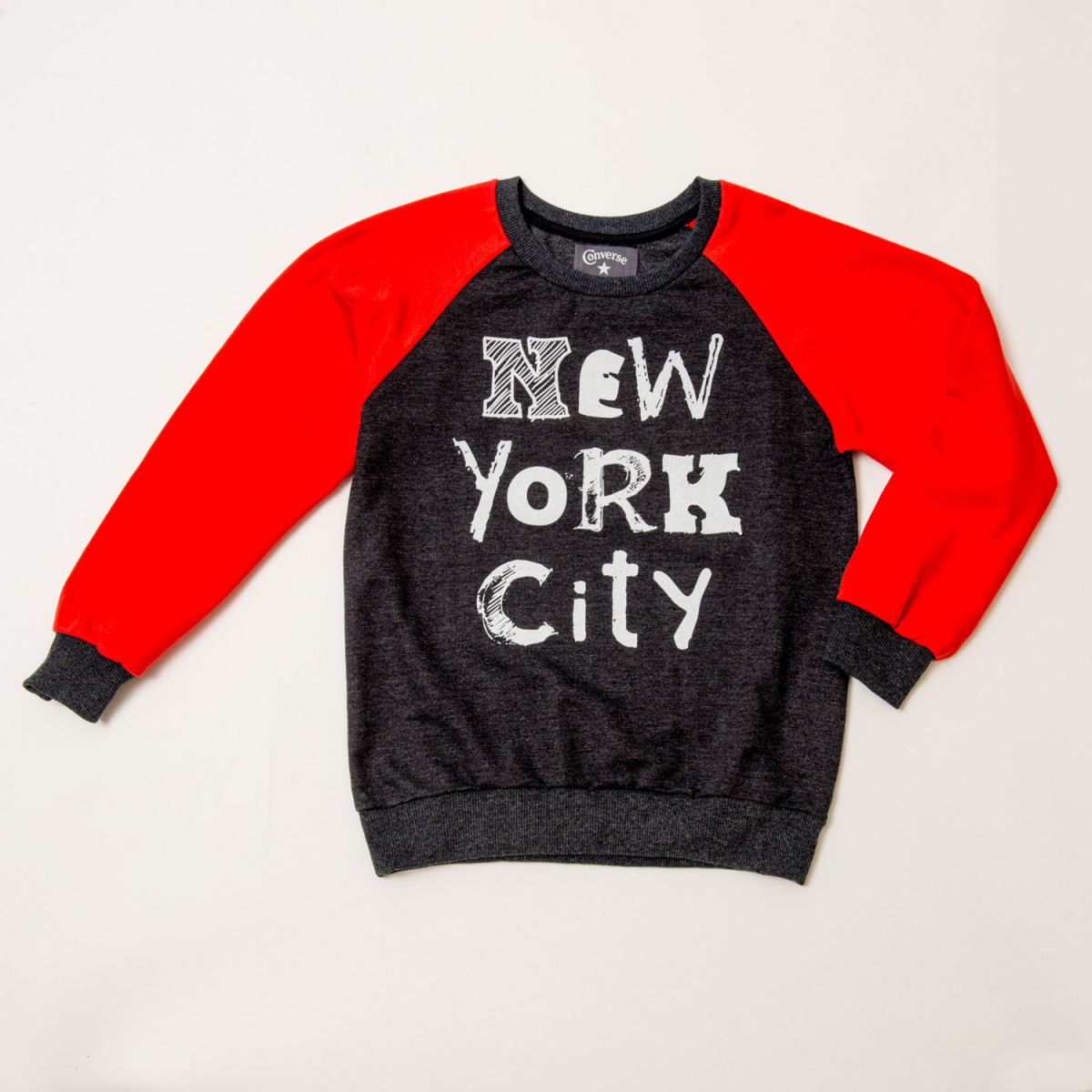BUZO CONVERSE NYC GIRLS CREWNECK