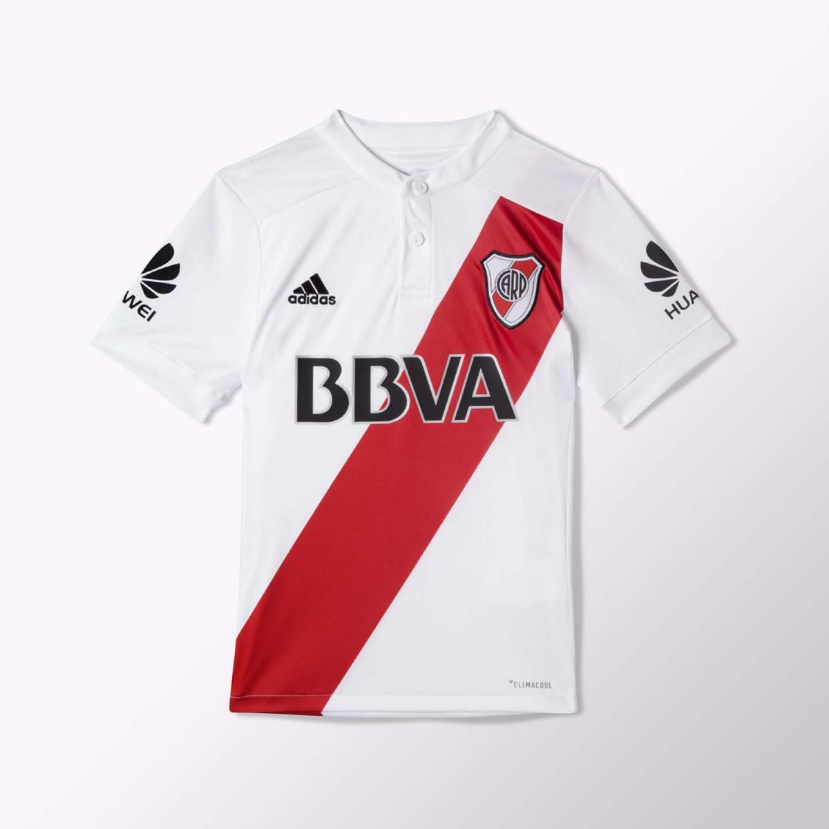 Camiseta Adidas River Plate Kids 2017/2018