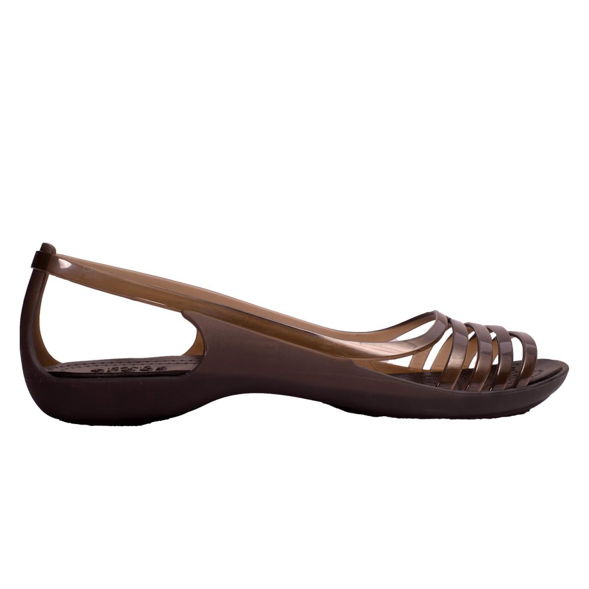 c77f6c6ce65 Sandalias Crocs Isabella Huarache Flat