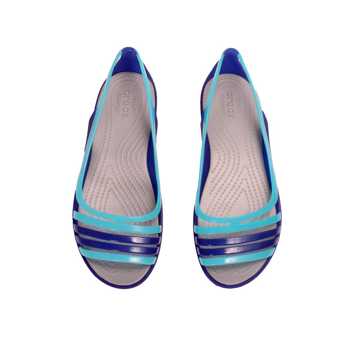 c1885905403 Sandalias Crocs Isabella Huarache Flat - Sandalias - Ojotas - Mujer