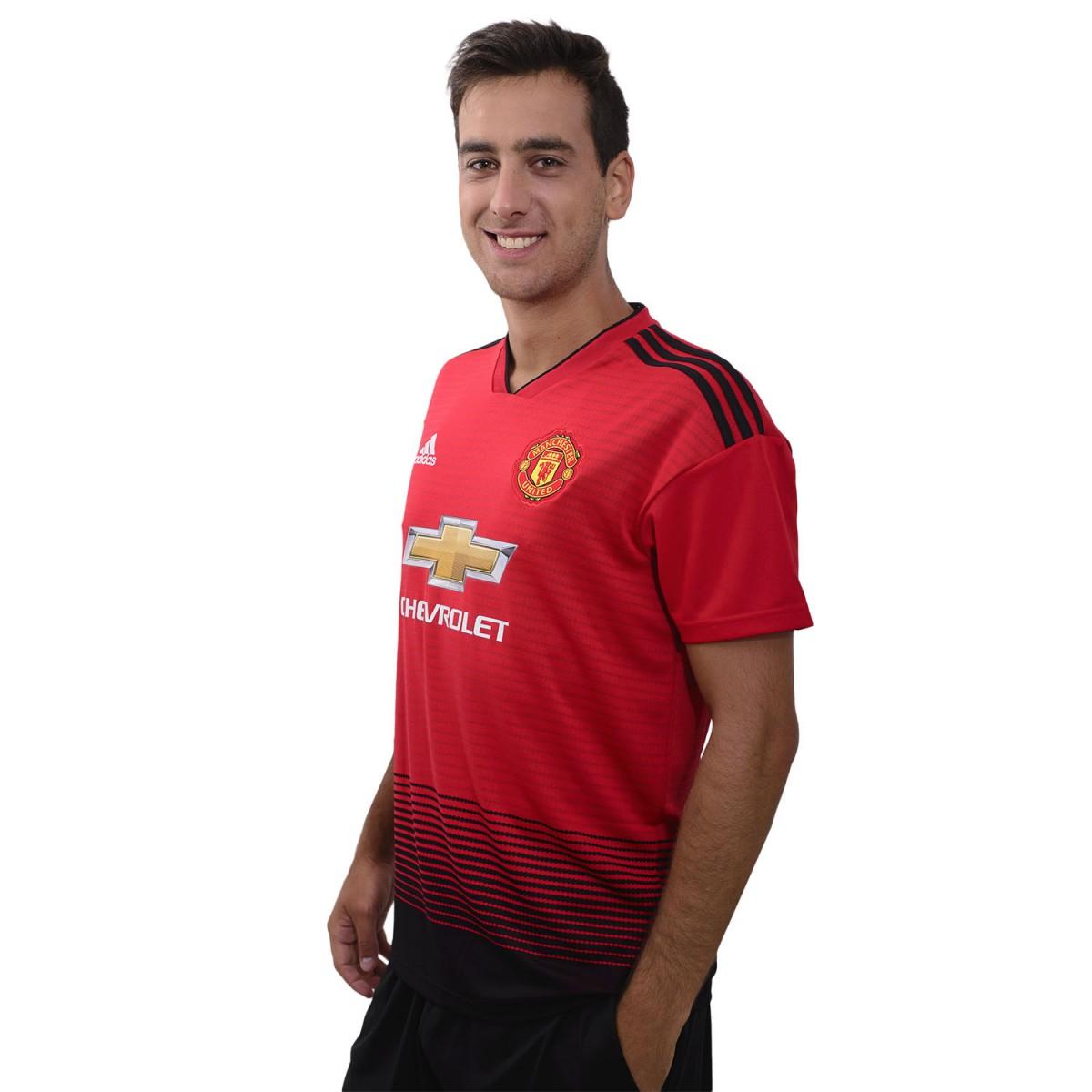 44c5aece Camiseta Adidas Manchester United Home 2018/2019 - Fútbol europeo