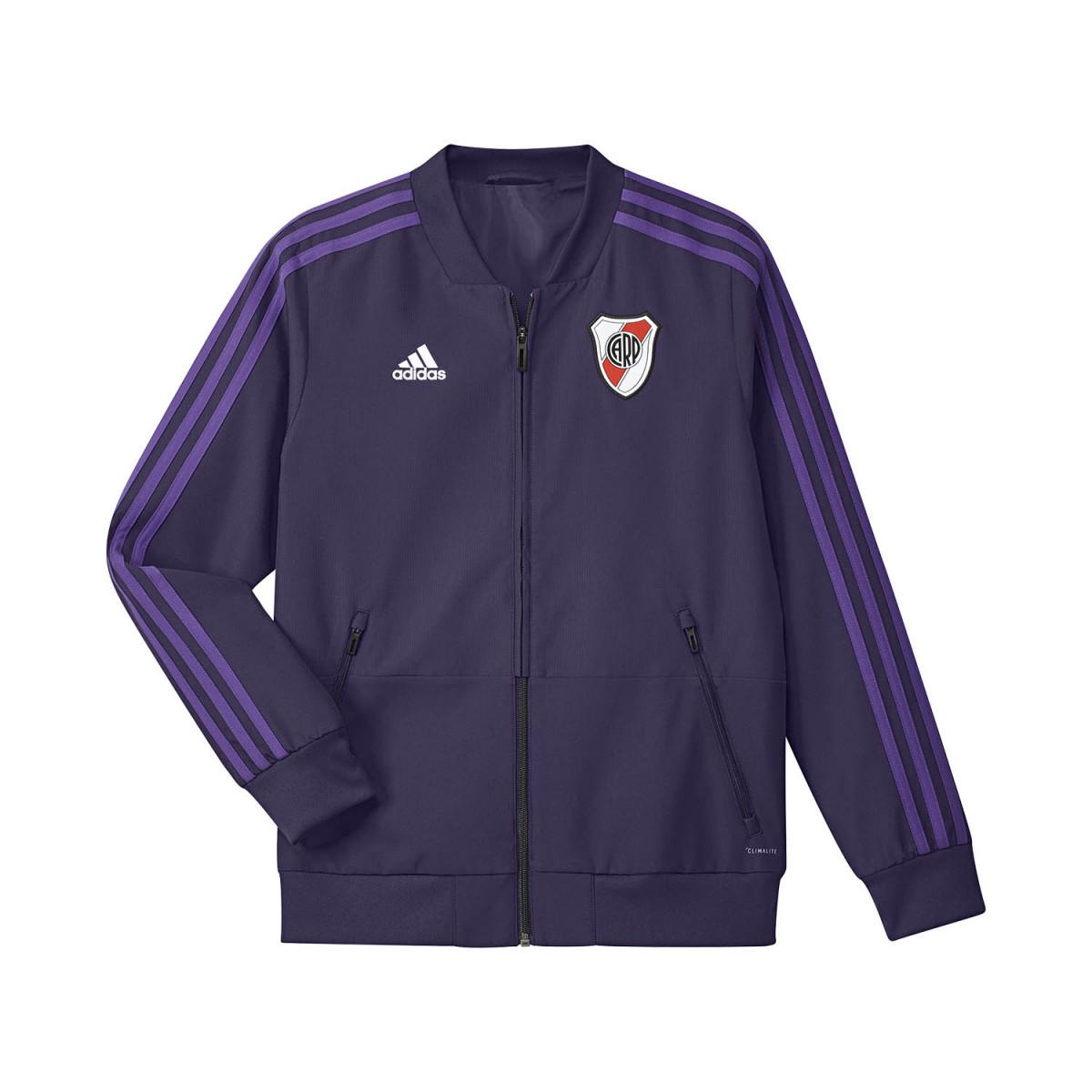 Campera Adidas River Plate Presentation Kids 2018 2019 - Camperas ... b14df9730ceed
