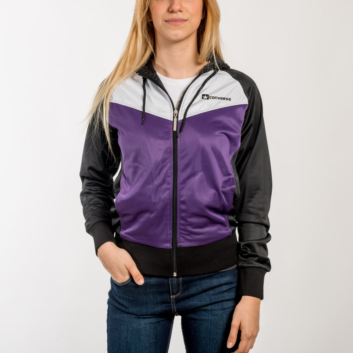 CAMPERA CONVERSE DEPORTIVA PAST WOMAN