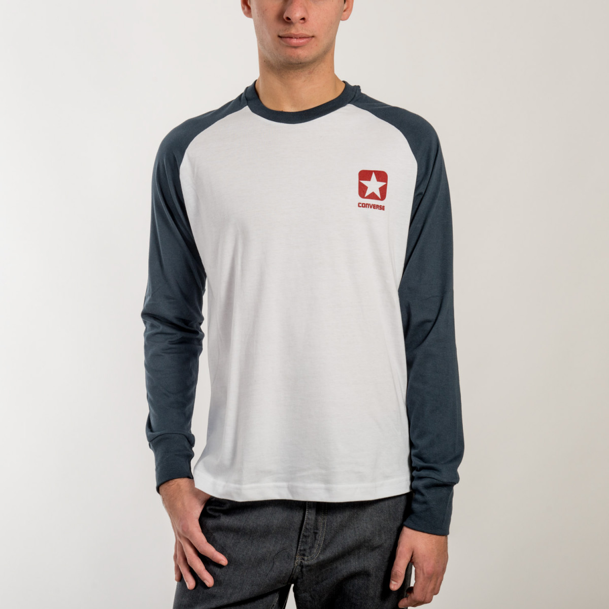 REMERA CONVERSE M/L HERITAGE LONG SLEEVE TEE