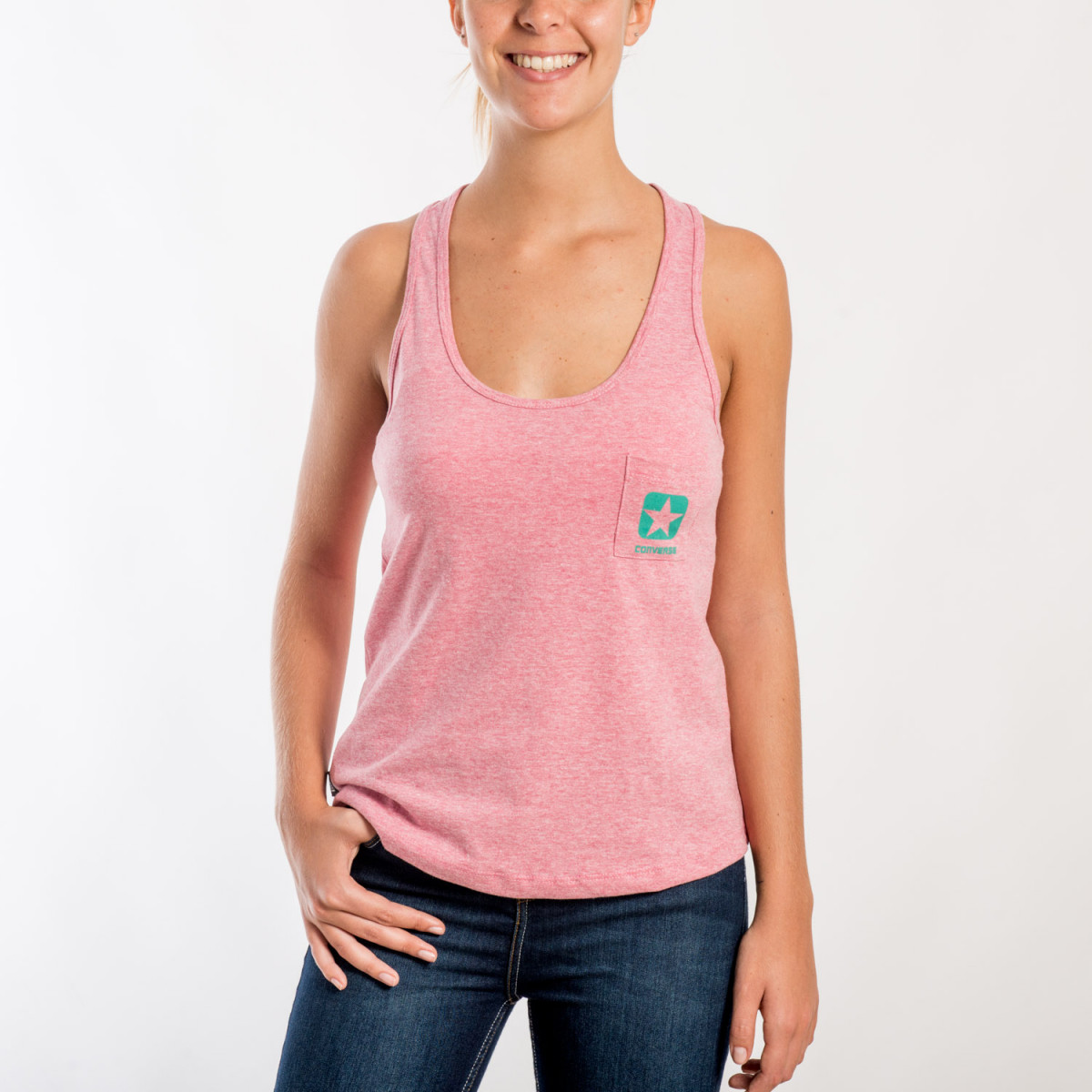MUSCULOSA CONVERSE THEO TANK