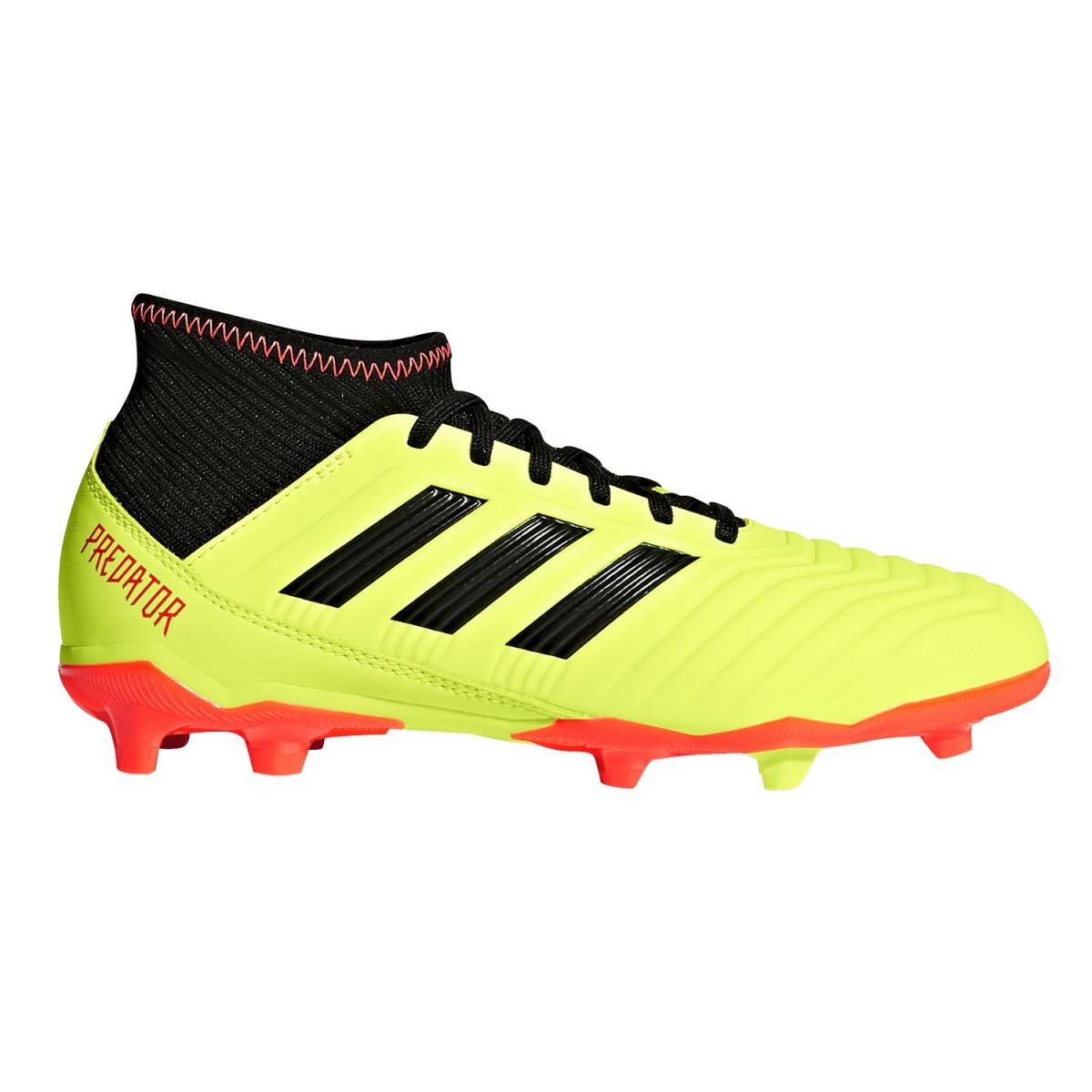 Botines Adidas Predator 18.3 Fg - Césped - Botines - Niños 66b5015141c6d