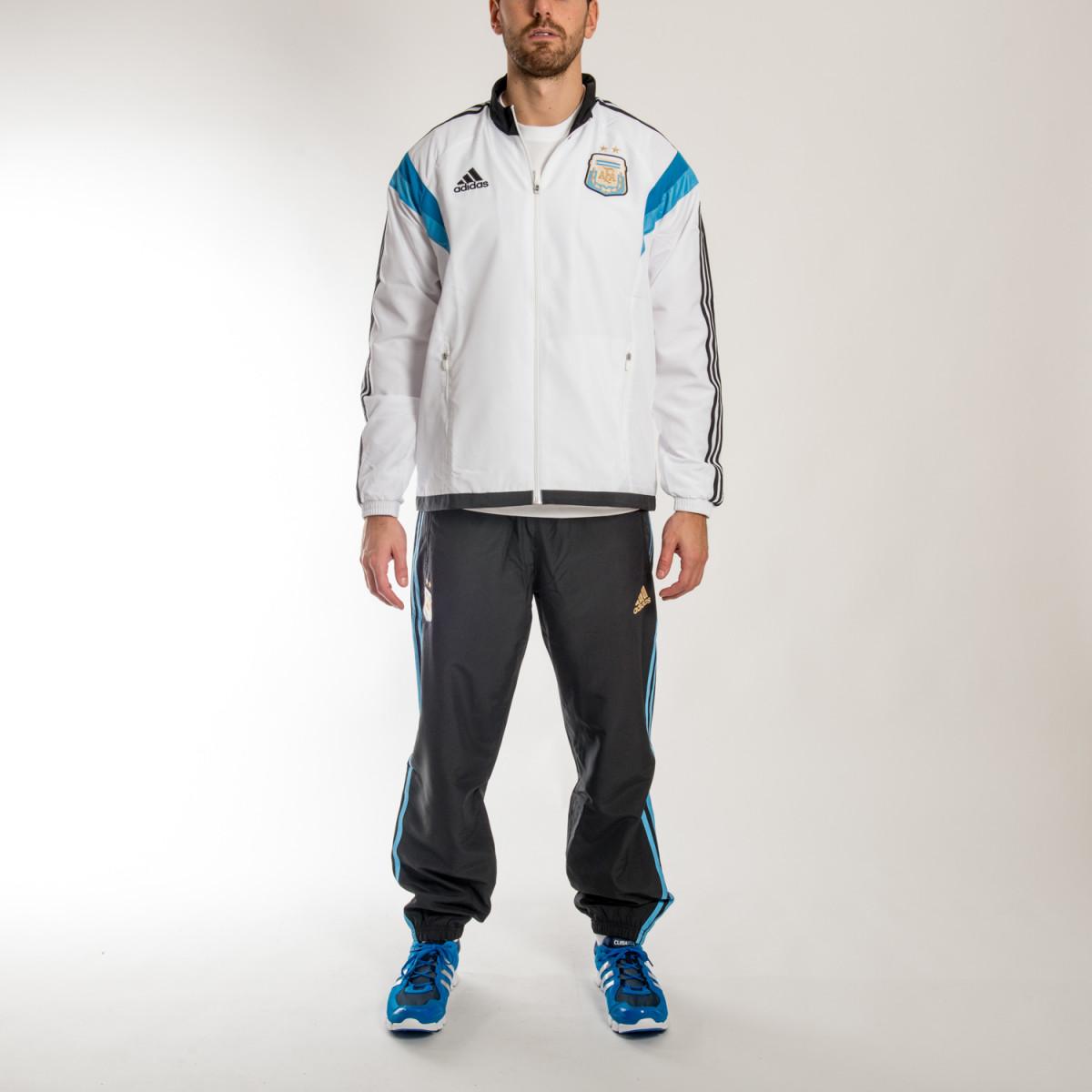 1fb4a0413 Conjunto Adidas Argentina Pres Suit 2014