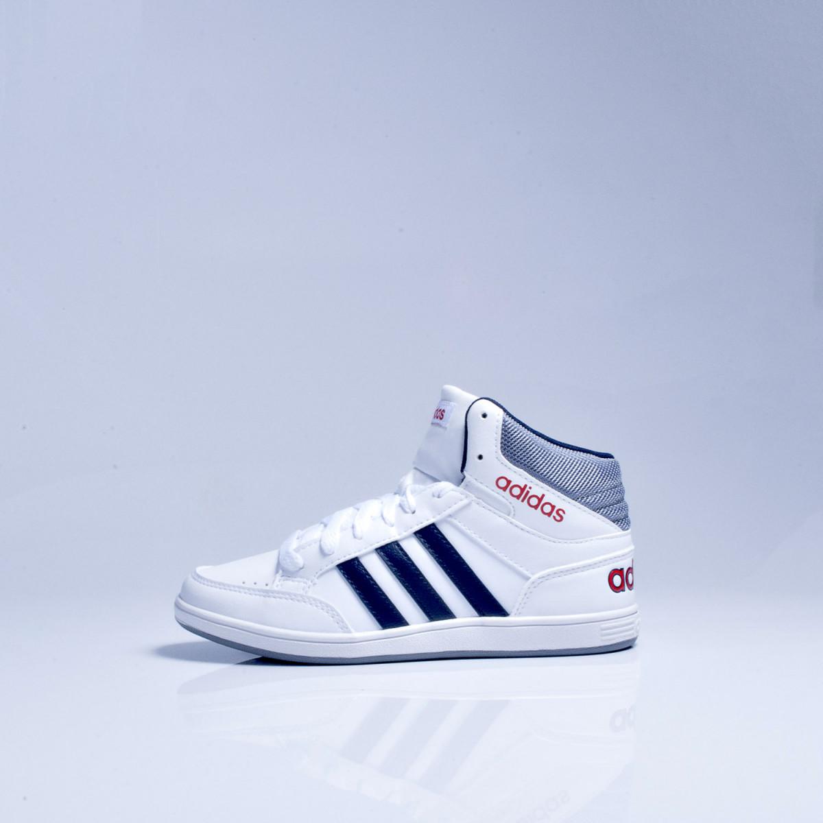 e609283d6aa Zapatillas Adidas Neo Hoops Mid Kids