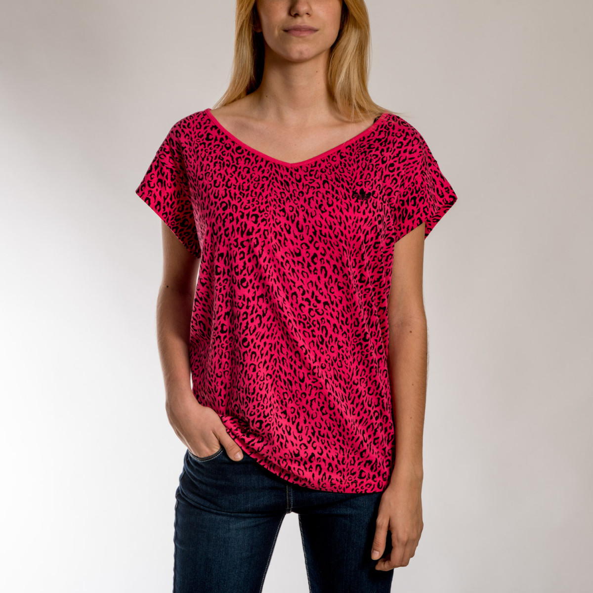 REMERA ADIDAS OR LEOPARD TEE