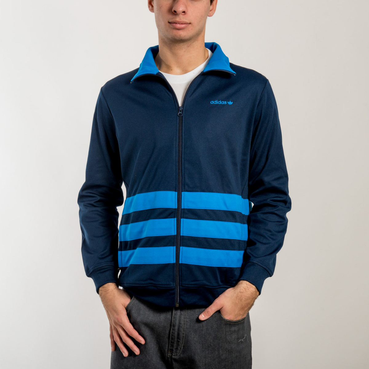 CAMPERA ADIDAS ORIGINAL'S STRIPED TT