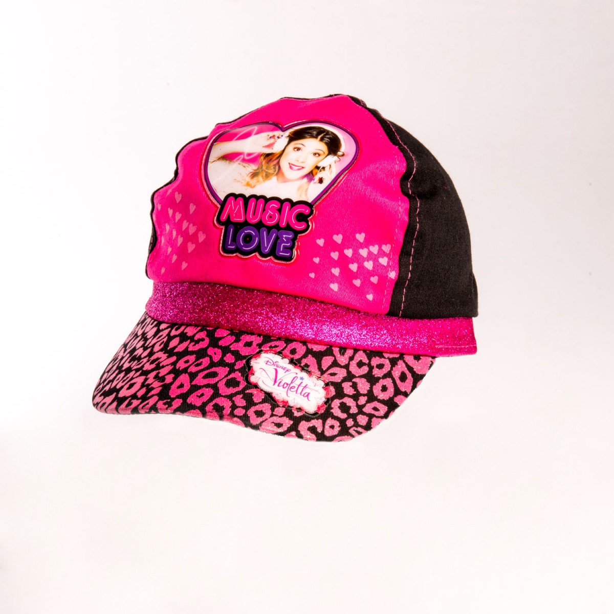 GORRA FOOTY VIOLETA MUSIC LOVE