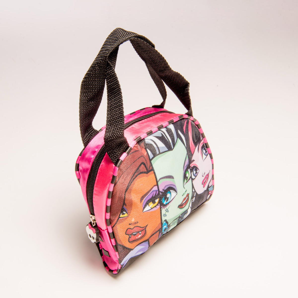 CARTERA FOOTY MONSTER HIGH 2 CIERRES