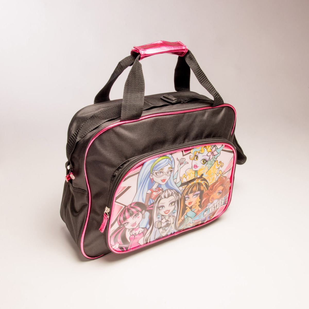 BOLSO FOOTY CON BOLSILLO MONSTER HIGH