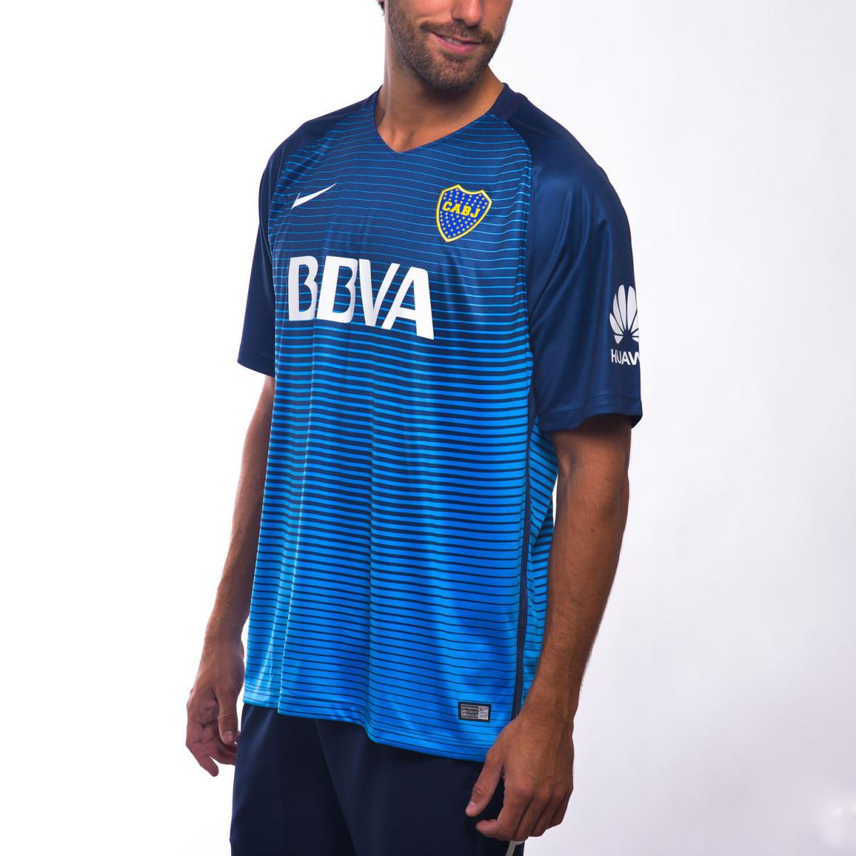 Camiseta De Fútbol Nike Boca Juniors 3ª Edición 2017 a3be5d7146309